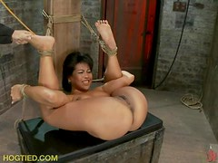 Beauties Suffering From Getting Tied Up and Tortured In BDSM Vid