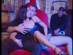 Sexy Brunette Jessica Fiorentino Gets Double Penetrated By two Horny Guys