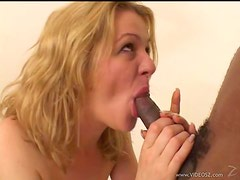 Blonde Milf Gets Her Share Of Interracial Sex With A Big Cock