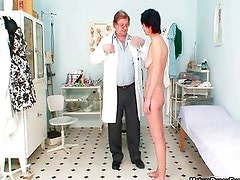 Horny doctor loves abusing