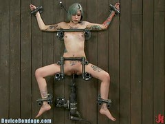 Tattooed Slut Gets The The Best BDSM Action Of Her Life