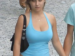 Candid - Best Of - Busty Bouncing Tits Vol 4