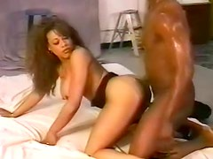 Go vintage for hot black on black sex