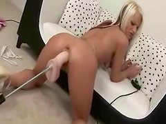 Raven masturbate to orgasm with visible vaginal contractions