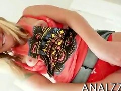 Sexy girlfriend tries out painful anal sex in doggystyle