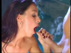 Brunette Michelle Wild Doing Ass To Mouth In Hardcore Anal Sex Vid
