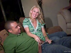 Lustful Blonde Brittany Star Fucks and Sucks In College Party