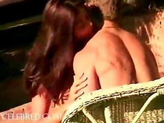 NUnsuspecting Stud gets Seduced by Jasmine Outdoors in Backyard Jasmine Richmond Blowjob Cum