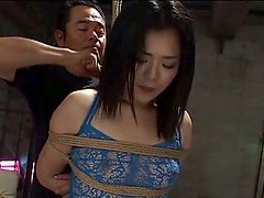 Fisting - Innocent Asian girls get their butts tied and screwed