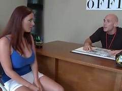 Big Ass and Big Breasted Babe Sophie Dee Fucking a Big Dick