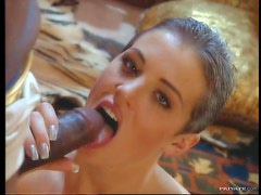 Black Egyptian Kings Fucking Horny Brunette Sluts Eager For Black Cock