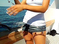 Fisherwoman gets fucked and creamed