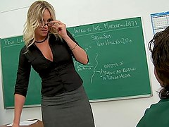 Prof. Lane wants her student to lick it good