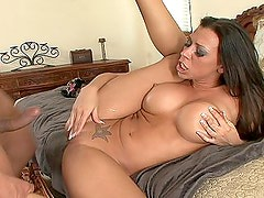 Rachel Starr gets facial cumshot after all