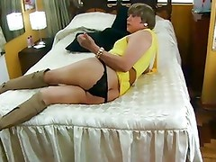 Teen CD gives his ass for hard fuck