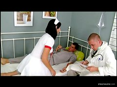Doctor and Patient Banging The Brunette Nurse Renata Black