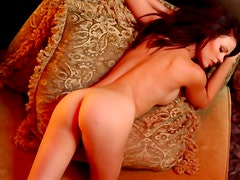 Sensuality comes easy to hot girl