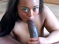 Long thick black dick in a black pussy
