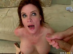 Cock-Bursting Brunette Pornstar Diamond Foxxx Goes Ass To Mouth