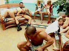 Incredibly Horny Anal Sluts Get Double Penetrated In a Bonerific Orgy