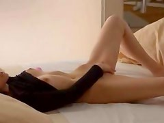 Voyeur movie of darkhair babe Tatiana