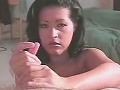 Lovely Misty Mendez is showing unforgettable and unbelievable handjob
