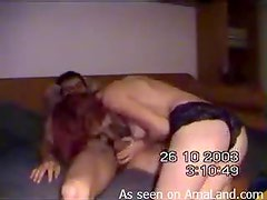 Horny Couple Film Themselves Doing Nasty Things On Camera