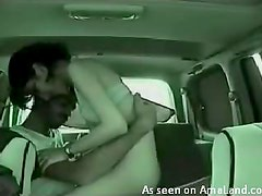 Backseat Action With A Very Horny Arab Chick