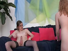 Cindy Valentine and TS June Thomas