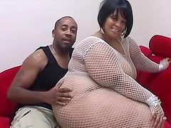 Undress that black BBW and fuck her