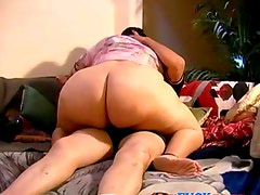 Fat married couple have home made video