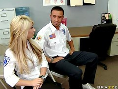 A Facial After Titty Fuck and Hardcore Sex By Paramedic Charley Chase