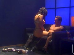 Hardcore Cowgirl and Doggy Style Fucking For Brunette Beverly Hills