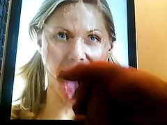 Cum tribute - Tongue facial