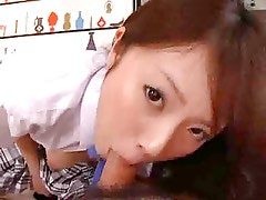 Pretty Japanese Girl - Blowjob