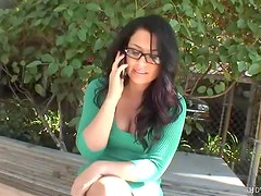 Eva Angelina in glasses hardcore porn
