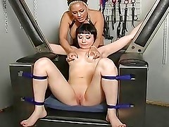Extreme Bondage Training For Nyssa Never...