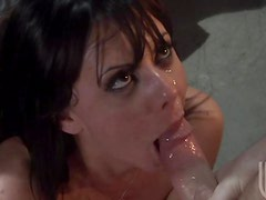 Horny and Drunk Brunette Penny Flame Gets Her Pussy Fucked