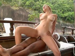 Interracial Hardcore Anal Sex With Brazilian Blonde Bianca Mello