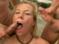 Double Facial Cumshot On The Rocks Please