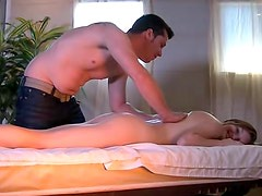 Massage and sex for a cocksucking slut