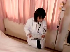 Watch this asian nurse babe