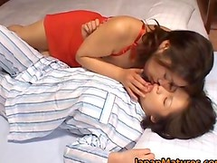 Japanese model is a sweet lesbian