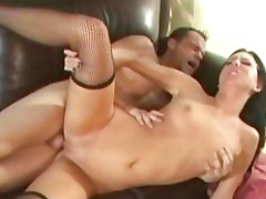 Destiny St Claire gets her wet pussy stuffed with cock