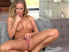 Hot touch session with Nicole