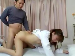 Nasty horny asian fucked