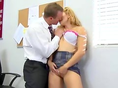 Student seduced fingered