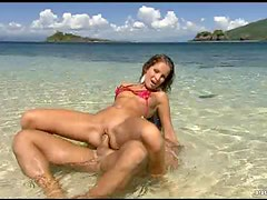 Going To The Beach For Hardcore Sex Underwater With Lauren May