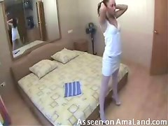 Hotel suck and fuck for horny housewife