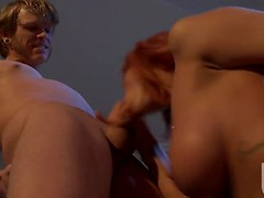Bonerific Redhead MILF Kirsten Prince Gets Fucked and Covered In Jizz